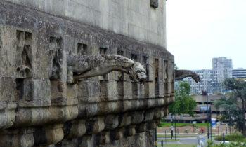 Gargoyles am Schloss der Herzöge der Bretagne