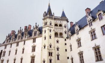 Schloss der Herzöge der Bretagne in Nantes