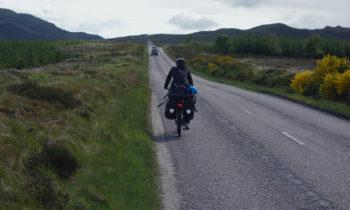 Radfahren in den Highlands