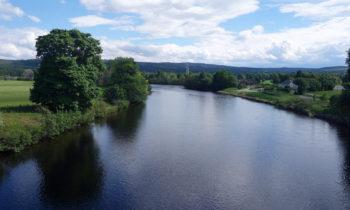 Fluß in Schottland