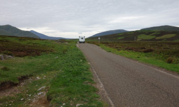 Single-track Road in Schottland