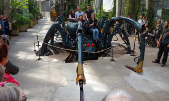 Steampunk Spinne bei Les Machines de l'île