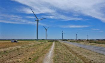 Windräder an der Atlantikküste, La Vélodyssée