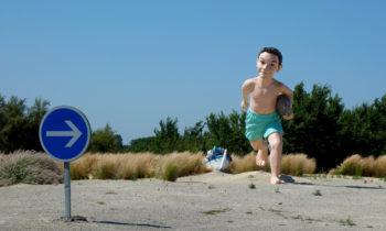 XL-Skulptur an der französischen Atlantikküste