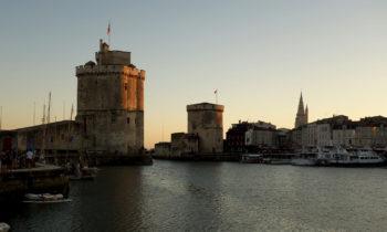 Hafeneinfahrt in La Rochelle