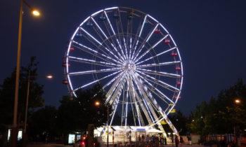 Riesenrad in La Rochelle