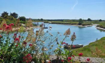 Kanal in den Pays de la Loire