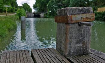 Bootssteg am Canal du Midi