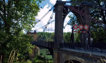Brücke bei Le Mas d'Agenais