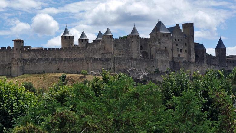 Festungsmauer von Carcassone