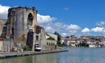 Castelnaudary am Canal du Midi