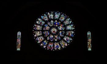 Fenster der Kathedrale Saint Étienne, Toulouse
