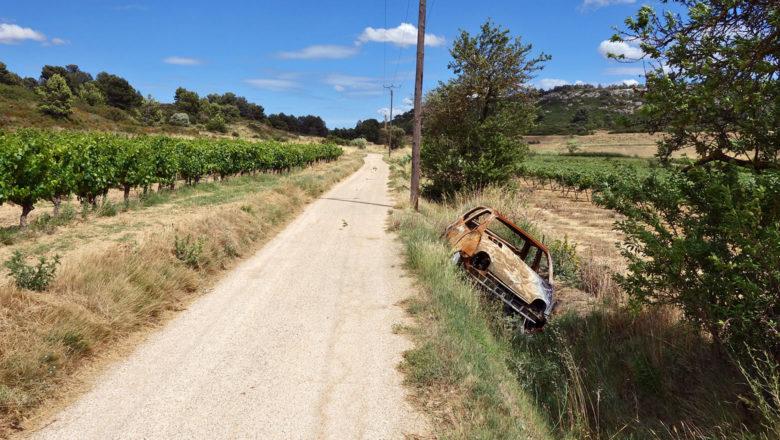 Radweg in der Nähe von Narbonne