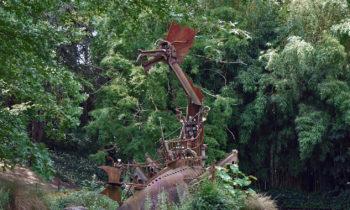 Skulptur im Japanischen Garten, Toulouse