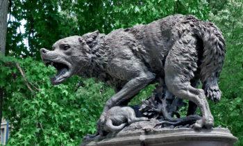 Skulptur im Jardin des Plantes, Toulouse