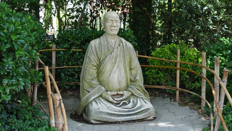 Mönch, Japanischer Garten, Toulouse