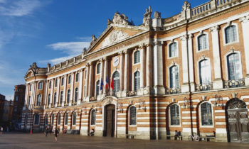 Place du Capitole in Toulouse