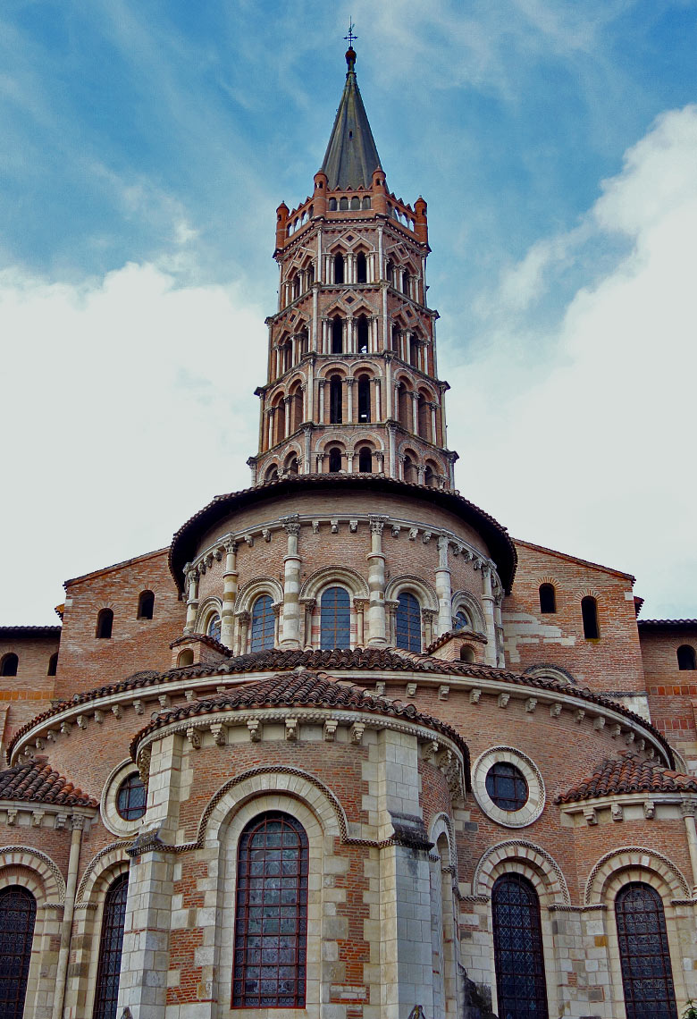 Basilika Saint Sernin in Toulouse