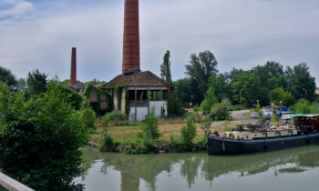 Am Ufer des Garonne-Seitenkanal