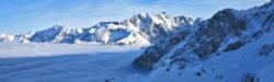 Blick von der Alpspitze im Winter