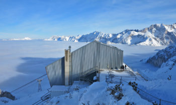 Bergstation der Alpspitzbahn