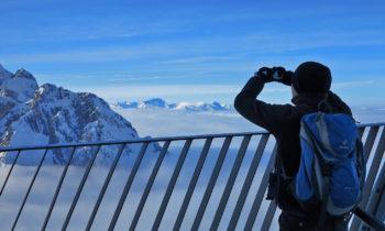 Aussichtspunkt auf der Alpspitze