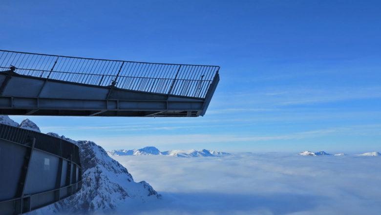 Aussichtspunkt der Alpspitze
