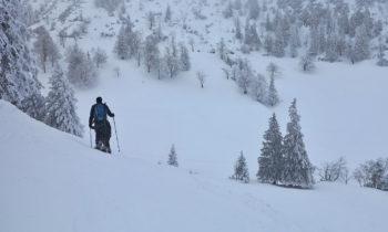 Schneeschuhwandern am Herzogstand