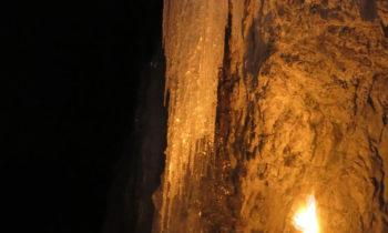 Eiszapfen in der Partnachklamm