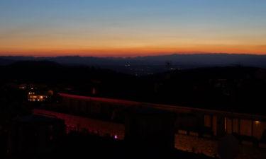 Sonnenuntergang in Begur