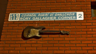 Rory Gallagher Corner in Dublin