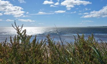 Der erste Blick aufs Mittelmeer bei Port-la-Nouvelle