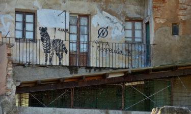 Hinterhof in Tarragona