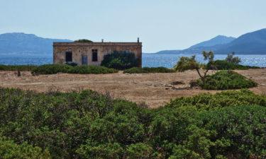 Ruine des Gefängniskomplex auf Asinara