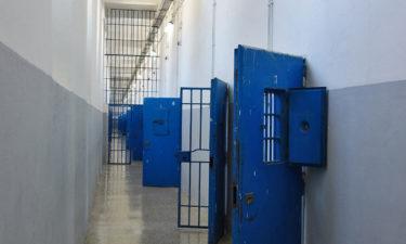 Zellenblock in der Außenstelle Fornelli auf Asinara