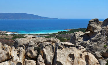 Baden verboten: Bucht auf Asinara