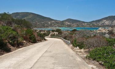 Hauptstraße von Asinara