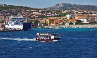Fährfahrt von La Maddalena nach Palau