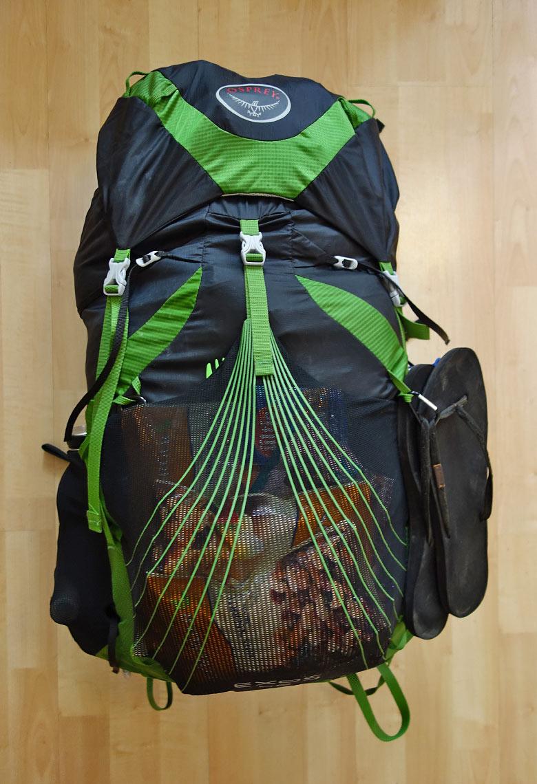 Packliste Hüttenwanderung: Rucksack