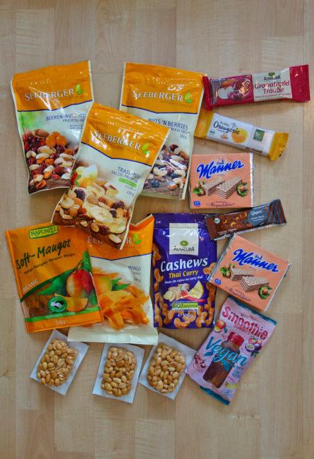 Packliste Hüttenwanderung: Vegane Verpflegung