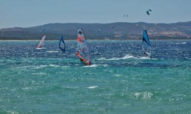 Windsurfer in Porto Pollo