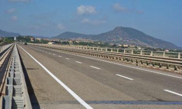 Radfahren auf Sardinien: Superstrada