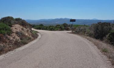 Landstraße auf Sardinien