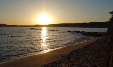 Sonnenaufgang am Spiaggia Naracu Nieddu