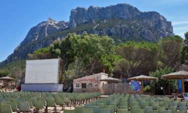 Open Air Kino auf Tavolara