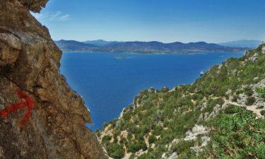 Wandern auf Tavolara vor Sardinien