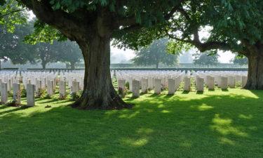 Britischer Soldatenfriedhof in Bayeux