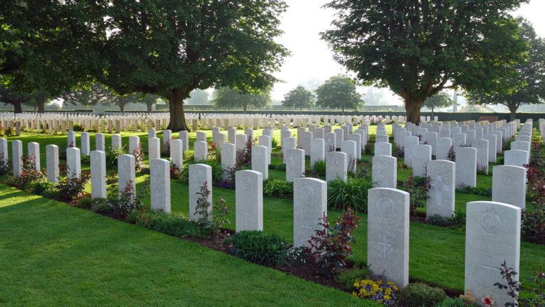Britischer Friedhof in Bayeux