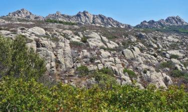 Berge auf Caprera