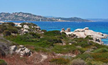 Küste von La Maddalena vor Sardinien